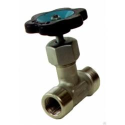 Клапан (вентиль) игольчатый муфтовый 15с54бк Ду15