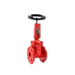 Задвижка обрезиненная KR14 Ду50 для систем пожаротушения