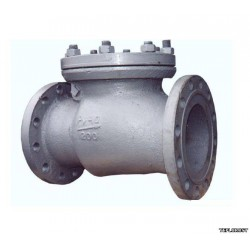 Клапан обратный поворотный фланцевый 19с53нж Ду50