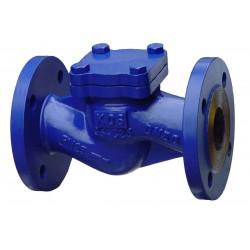 Клапан обратный подъёмный фланцевый стальной RD50F Ду 15