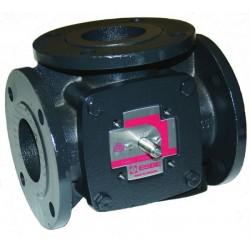 Клапан регулирующий трехходовой чугунный фланцевый HFE3 Ду 20 под электропривод