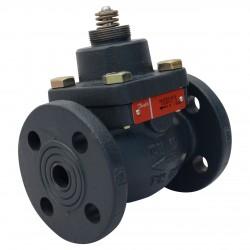 Клапан регулирующий чугунный фланцевый VB2 Ду 15 под электропривод