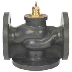 Клапан регулирующий трехходовой чугунный фланцевый VF3 Ду 15 под электропривод