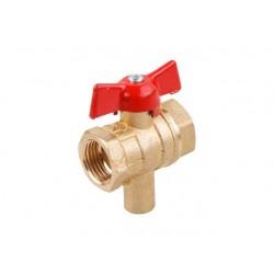 Кран шаровой для термодатчика 11Б27п13 Ду 15