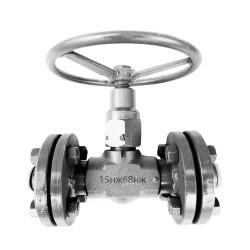Клапан (вентиль) фланцевый 15нж68нж Ду15 Ру160